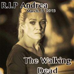 I think I was one of the few who liked Andrea and will actually miss her