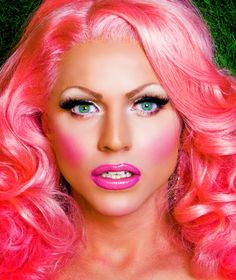 Tom Crowe meets the blonde thunder from Down Under, RuPaul's Drag Race superstar Courtney Act.