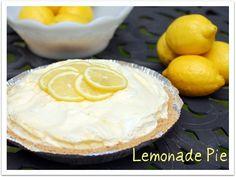 Lemonade #Pie - refreshing dessert chilled or frozen