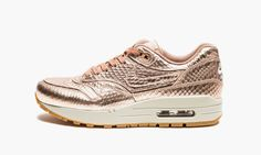"Nike Air Max 1 Cut Out PRM ""Metallic Red Bronze/Light Bone"""