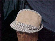 Hat Dobbs Mens Tweed Hat   Irish Walking Hat  Large. $27.00, via Etsy.