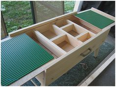 Storage Benches and Nightstands, Lego Storage Bench Luxury Best 25 Lego Table With Storage Ideas On Pinterest: Awesome Lego Storage Bench