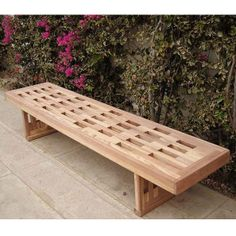 ❧ IDEA: Redwood Outdoor Backless Lighthouse Bench | Benches, Sauna Furniture