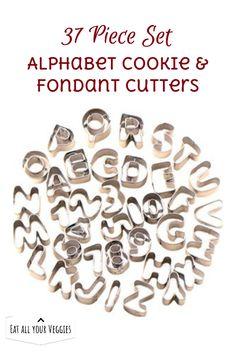 37 pcs Metal Alphabet Number Letter Cake Mould Mold Decorating Cutter  Tool Set Biscuit Fondant Sugarcraft Cookie Stamp Impress Embosser.  #ad