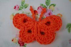Luty Artes Crochet: Borboletas de crochê