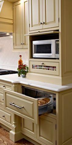 Drawer Microwave Warming Drawer | conceal warming drawer and microwave