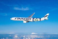 新デザインのマリメッコ飛行機 by FINNAIR