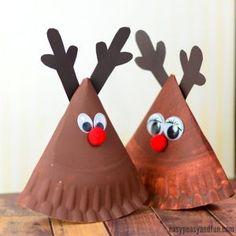 Rocking Paper Plate Reindeer Rocking Paper Plate Reindeer Craft for Kids Preschool Christmas Crafts, Santa Crafts, Reindeer Craft, Winter Crafts For Kids, Christmas Activities, Christmas Crafts For Kids, Kids Christmas, Easter Crafts, Holiday Crafts
