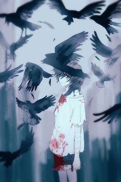 Zack - Satsuriku no Tenshi Anime Angel, M Anime, Dark Anime, Angel Of Death, Yatogami Noragami, Anime Negra, Image Triste, Fan Art Anime, Dark Art Illustrations