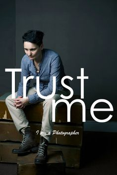 As we started working on a new project idea (still carrying on with the one we started in May The Bolds Project - slightly different if we consider the aesthetic of images and the way people are portrayed), we'd love to share the 1st photograph from the Trust Me Series.