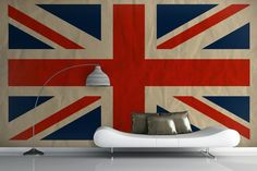 Big is good. Use the Union Jack as wall art. Say who you are with pride. Home flags wave. #furniture #home #decor #Union_Jack #UK #Britain #England #bestofbritish #ArchitectureIsFun @Architecture Is Fun, Inc. #designmatters #interiordesign #publicspace #art #art #flag #arteducation #designforkids @SharonExley1 #designforkids #starsandstripes @ASIDIL