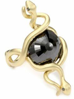 Borgioni Double Snake 9.04 ct. Black Diamond Center Stone Ring, Size 7 Borgioni, http://www.amazon.com/dp/B005GOP6TK/ref=cm_sw_r_pi_dp_7SoVqb0TSCJCF