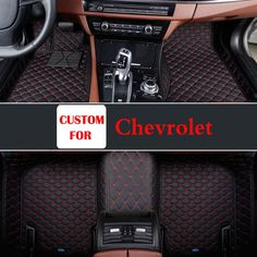 Hard-Working Car Floor Mats Case For Chevrolet Cruze Malibu Sonic Trax Sail Captiva Leather Anti-slip Car-styling Carpet Liner Floor Mats
