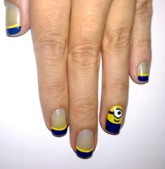 These are minions but would also be awesome for WVU football. :)