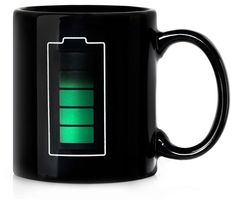 Mug wit temperature sensor. The roof of my mouth is begging for me to buy this