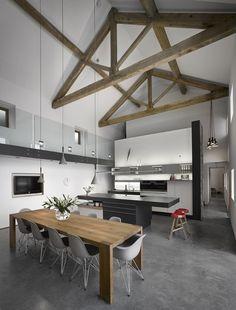 Rénovation d'une grange par Snook Architects