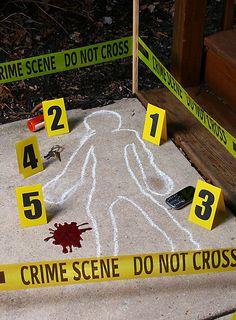 Tatort Dekoration ★ online bestellen ★ maskworld.com  #halloween #decoration #crimescene