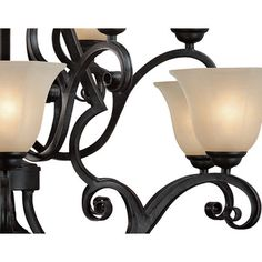 Chandeliers - Finish: Bronze, Price: | Wayfair