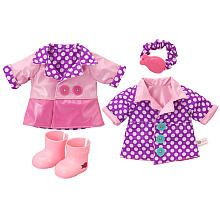 Baby Alive Reversible Outfit - Spring Showers Raincoat - Large