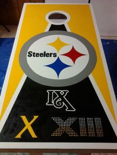 superbowls | 2012 Pittsburgh Steelers + Super Bowls • Cornhole Players ...