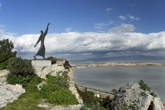 Statue of St Francis - Sant Elena, Sardinia. Celtic Christianity, San Francesco, Travel Plan, St Francis, Sardinia, Terra, Places To Go, Beautiful Places, Saints