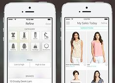 Shop it to me----The app that alerts you to sales in your size