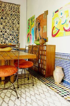 House Tour: A Textured Patterned Paradise in Morocco | Apartment Therapy