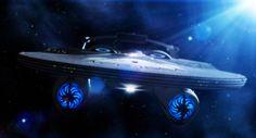 Alternate time line U.S Reliant Star Trek Enterprise Ship, Star Trek Starships, Starfleet Ships, Star Trek Images, Star Trek Into Darkness, Sci Fi Shows, Star Wars, Star Trek Ships, Star Trek Universe