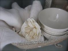 vintage linen...