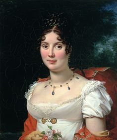 Portrait of a Lady in an Empire Dress