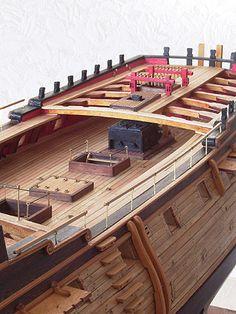 コンフェデラシー(Confederacy) 帆船模型 製作過程