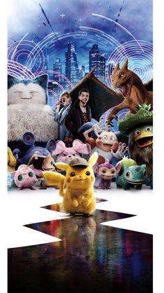 Detective Pikachu - Best Quality Wallpapers for Your Phones Cool Pokemon Wallpapers, Cute Pokemon Wallpaper, Cute Disney Wallpaper, Cute Cartoon Wallpapers, Pikachu Pikachu, Ninetales Pokemon, Pikachu Drawing, Pokemon Movies, Pokemon Pictures