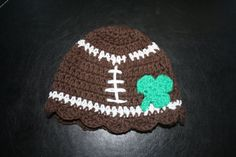 Too bad football season is about over...  hat on etsy