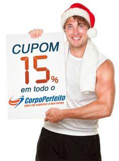 Cupom de desconto de 15% para comprar no site Corpo Perfeito. Aproveite porque é por tempo limitado!