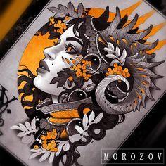 Design available tattoomv@gmail.com/эскиз свободен #tattoo#tattoos#art#drawing#sketch#tattoodesign#tattooflash#tattooart#girl#horns#procreate #ipaddrawing #dragon#portrait#blackandred#blackandgray#morozov#mv#artist#mvtattoo#эскиз#татуировка#тату#морозов