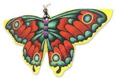 Novica Kite, 'Monarch Butterfly'