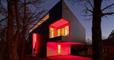 This stunning house can change colours just like a mood ring