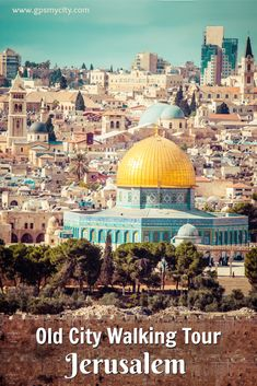 City Walk: Jerusalem Old City Walking Tour, Jerusalem, Israel Ways To Travel, Best Places To Travel, Travel Tips, Travel Articles, Places Around The World, Travel Around The World, Around The Worlds, Middle East Destinations, Travel Destinations