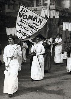 Suffragettes 1913, w