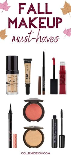5 fabulous fall makeup trends to copy and the makeup products you need to pull them off. #fall #winter #makeup #trends