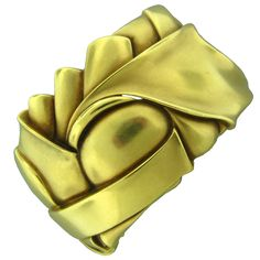 KIESELSTEIN CORD Gold Cuff