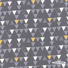 Color Theory V and Co Triangles in Grey Color Theory V and Co Triangles in Grey Moda fabric for patchwork quilting & dressmaking - Eclectic Maker [10832 17] : Patchwork, quilting and dressmaking fabric, patterns, haberdashery and notions from Fabric for Patchwork, Quilting and Dressmaking from Eclectic Maker