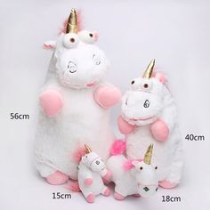 Love These Despicable Me Fluffy Unicorn Plush Bedroom Kids
