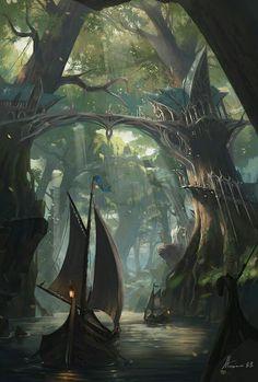 Elder scrolls/lord of the rings