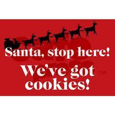 Image result for santa stop sign