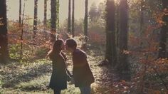 """Engagement Films are a perfect way of asking your guests to """"save the date"""". Have a look at this sweet one that we shot in Donadea Forest, Kildare, Ireland. See more of our work at weddingsbykara.com #videos #weddingvideography #videography Videography, Kara, Save The Date, Ireland, Films, That Look, Engagement, Weddings, Couple Photos"""