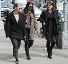 Princess Eugenie of York with friends in New York