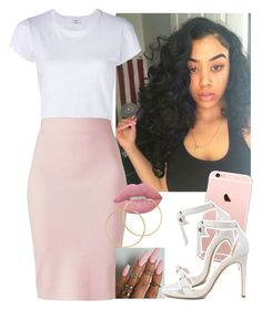 """""""❕❕❕"""" by saucinonyou999 ❤ liked on Polyvore featuring RE/DONE, Winser London, Alexandre Birman, Lime Crime and Melissa Odabash"""