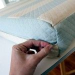 How to sew cushion covers for your trailer