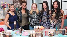 Be 'Radiant,' 'Sultry,' 'Cherished' and more with Drew Barrymore's Flower Beauty Line Flower, Drew Barrymore, Golden Girls, Beauty Hacks, Interview, Celebrities, Projects, Dresses, Display